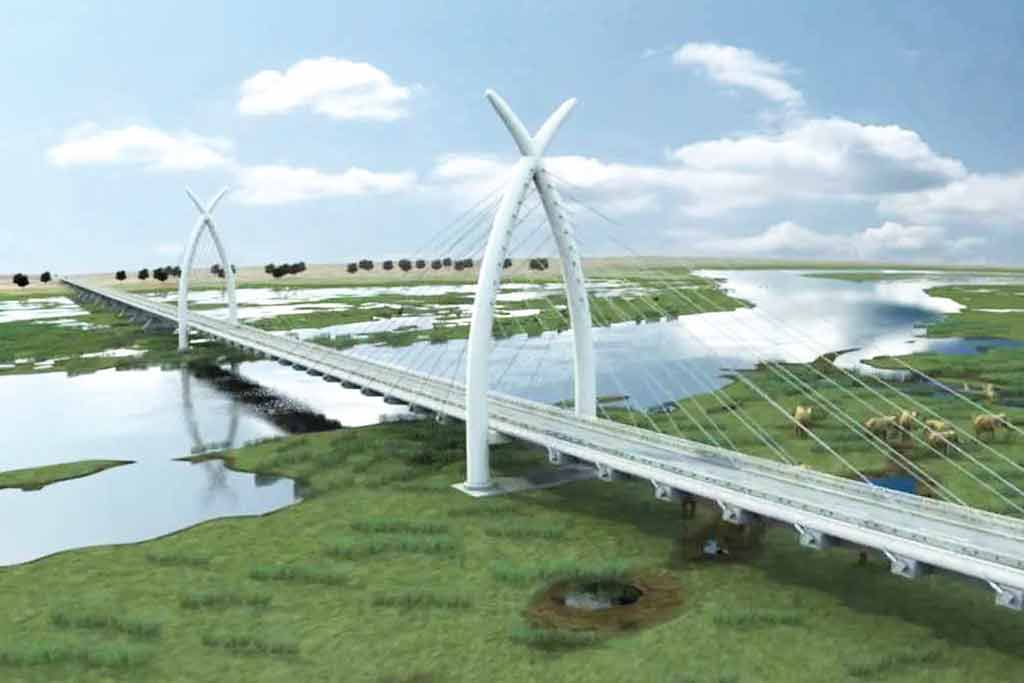 Mohembo bridge construction finally resumes | Botswana Gazette